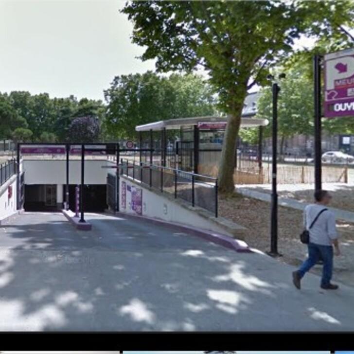 Öffentliches Parkhaus URBIS PARK ANDRÉ MEUNIER (Überdacht) Parkhaus Bordeaux