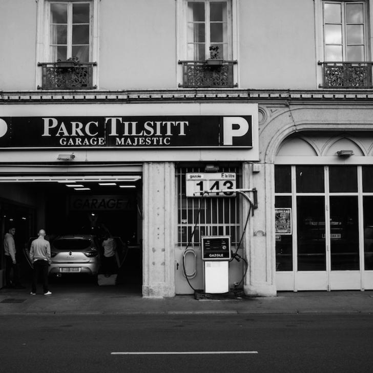 Öffentliches Parkhaus PARC TILSITT GARAGE MAJESTIC (Überdacht) Lyon