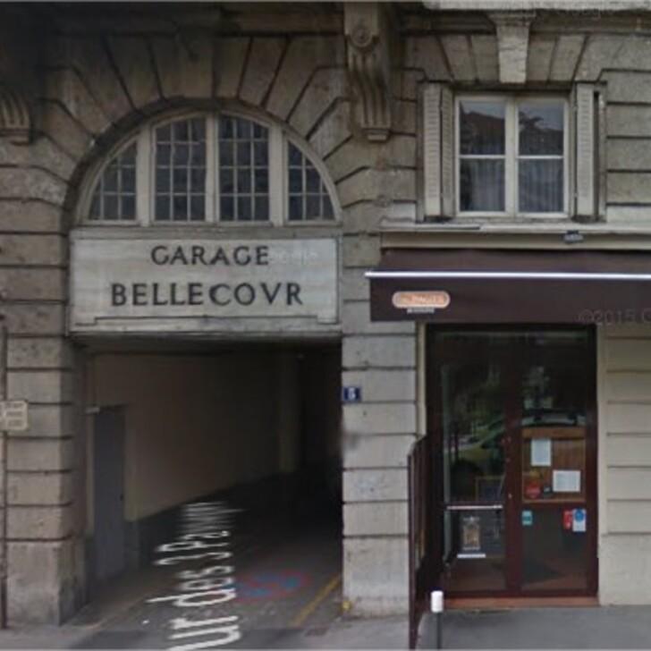 Öffentliches Parkhaus GARAGE BELLECOUR (Überdacht) Parkhaus Lyon