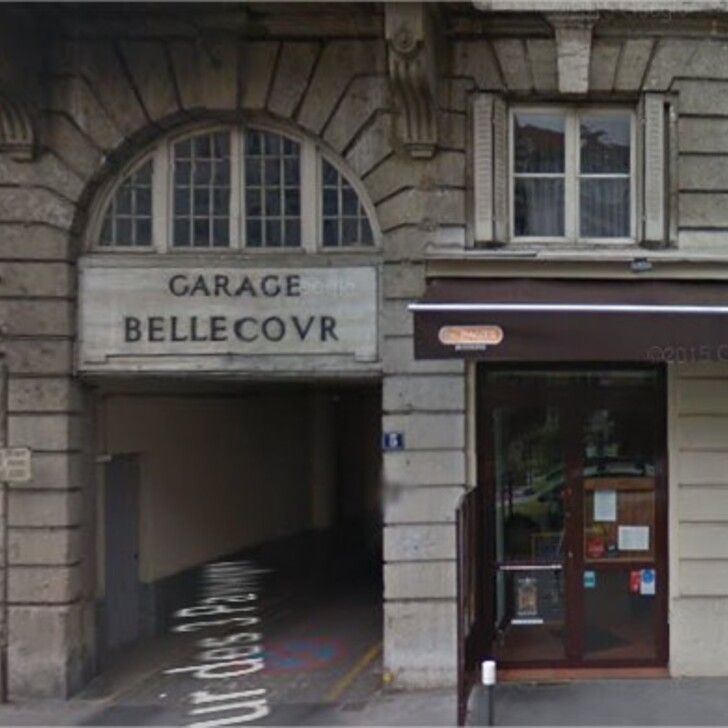 Öffentliches Parkhaus GARAGE BELLECOUR (Überdacht) Lyon