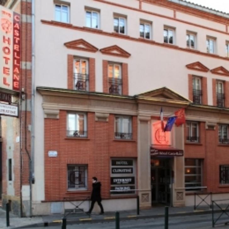 Parque de estacionamento Parking Hôtel CASTELLANE (Couvert) Toulouse
