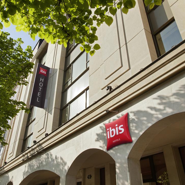 IBIS PARIS RUEIL-MALMAISON Hotel Parking (Overdekt) Parkeergarage Rueil Malmaison