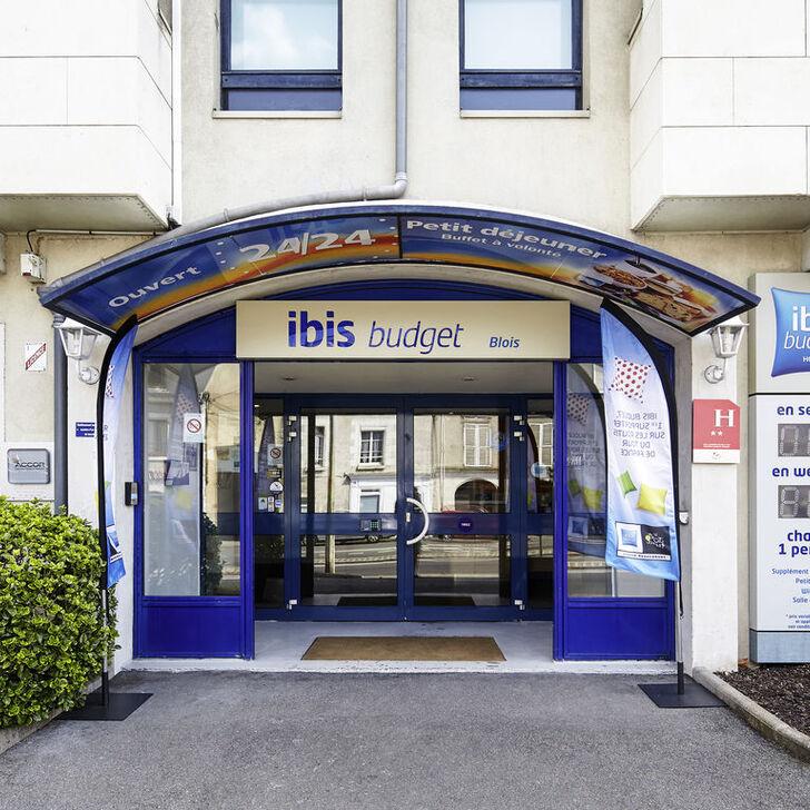 Parking Hôtel IBIS BUDGET BLOIS CENTRE (Couvert) Blois