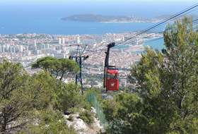 Parking Téléphérique du Mont Faron : precios y ofertas - Parking de lugar turístico | Onepark