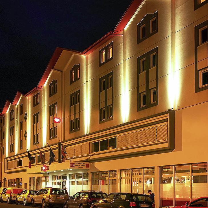 Parque de estacionamento Parking Hôtel IBIS BAYONNE CENTRE (Couvert) Bayonne