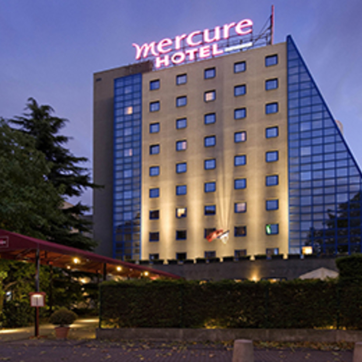 Parking Hotel MERCURE PARIS PORTE DE PANTIN (Cubierto) Pantin