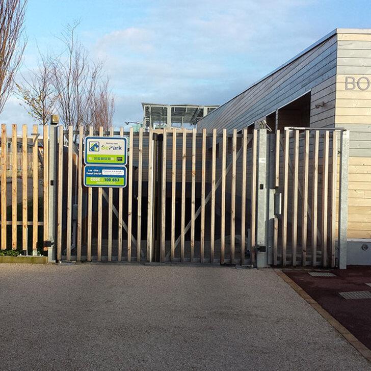 Öffentliches Parkhaus BEPARK ISSY - LOUISE MICHEL (Überdacht) Parkhaus Issy-les-Moulineaux