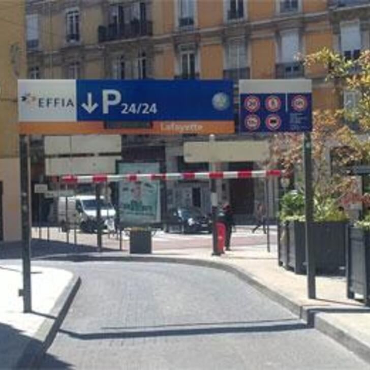 Parking Público EFFIA LAFAYETTE (Cubierto) Grenoble
