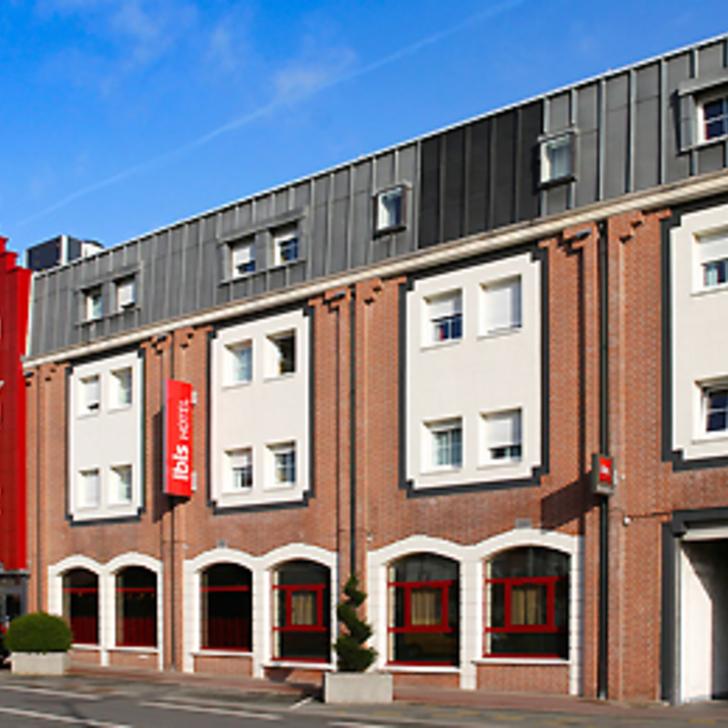 IBIS LILLE LOMME CENTRE Hotel Parking (Exterieur) Parkeergarage Lomme Lez Lille