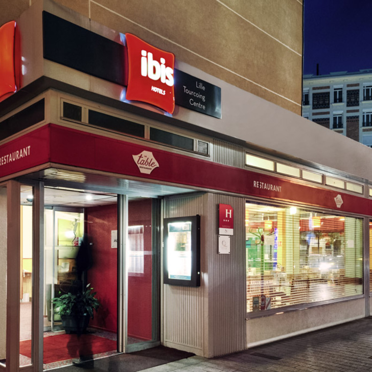 Hotel Parkhaus IBIS LILLE TOURCOING CENTRE (Überdacht) Parkhaus Tourcoing