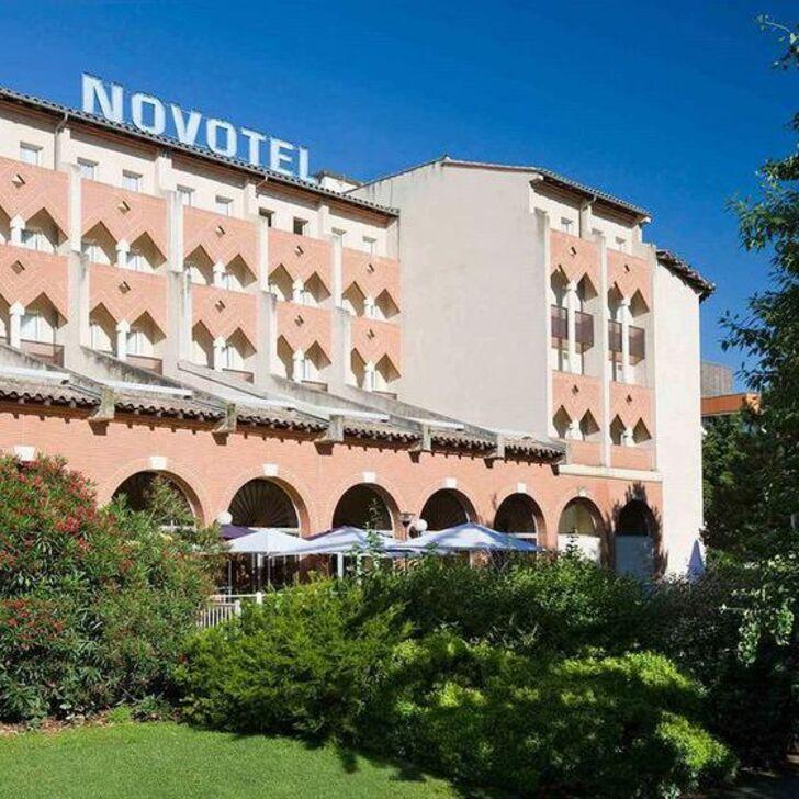 NOVOTEL TOULOUSE CENTRE COMPANS CAFFARELLI Hotel Car Park (Covered) car park Toulouse