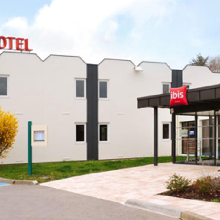IBIS ROUEN PARC DES EXPOS ZÉNITH Hotel Parking (Exterieur) Parkeergarage Saint-Étienne-du-Rouvray
