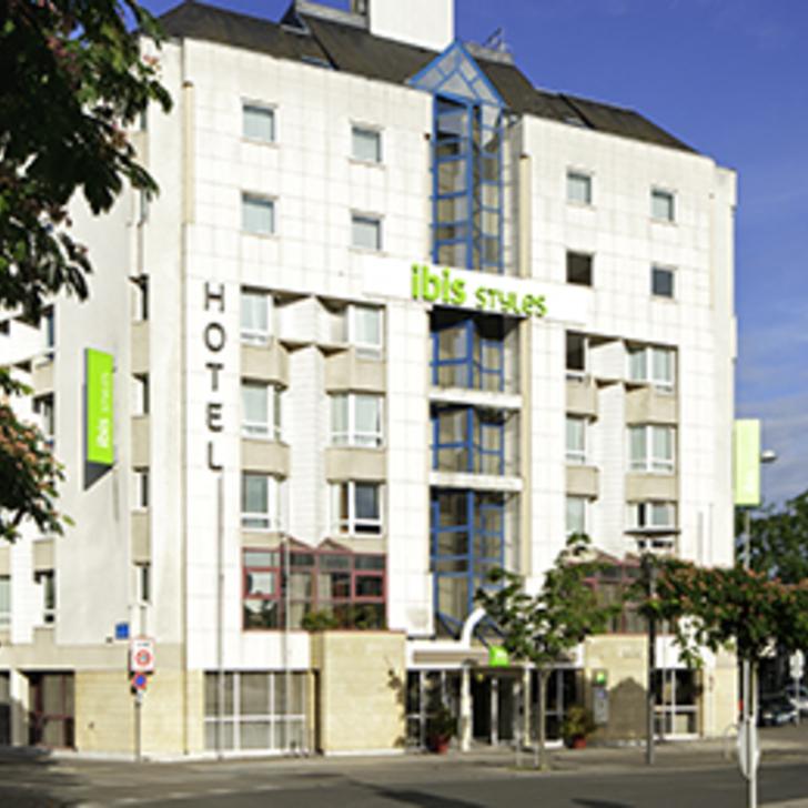 Parcheggio Hotel IBIS STYLES TOURS CENTRE (Coperto) parcheggio Tours