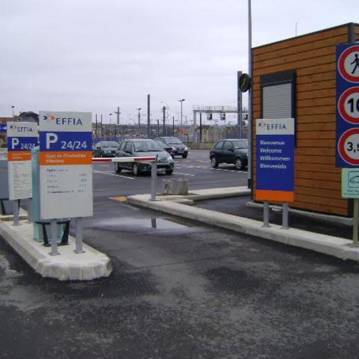 Parking Officiel EFFIA GARE DE CHARLEVILLE-MÉZIÈRES - Longue Durée (Extérieur) CHARLEVILLE MEZIERES