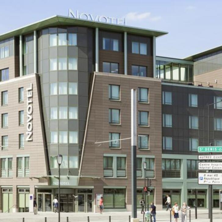 Parking Hotel NOVOTEL PARIS SAINT-DENIS STADE BASILIQUE (Cubierto) Saint-Denis