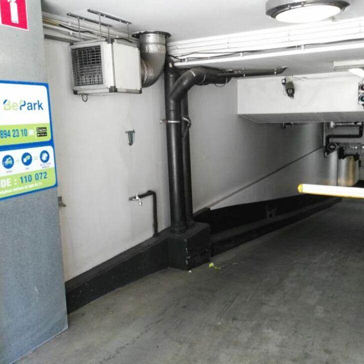 Parking Público BEPARK SCHUMAN BERLAYMONT (Cubierto) Bruxelles