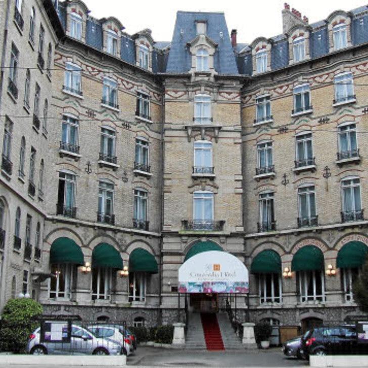 CONCORDIA LE MANS CENTRE GARE Hotel Parking (Overdekt) Parkeergarage Le Mans