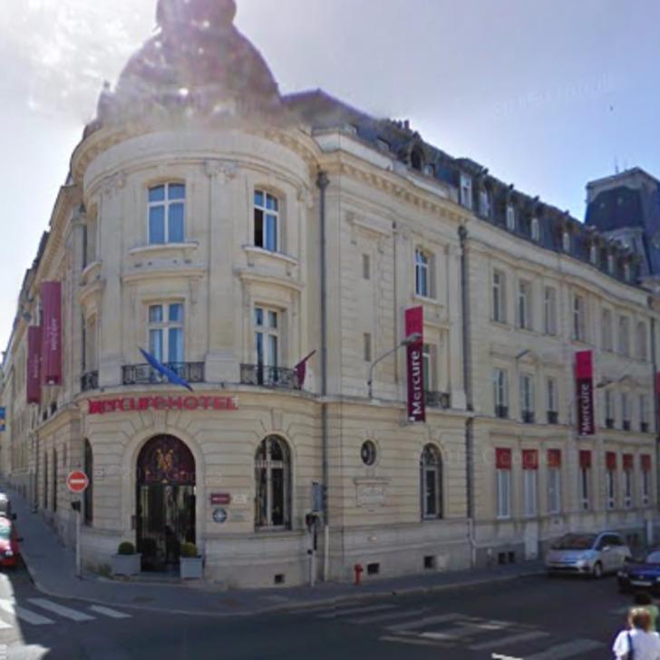 Parking Hôtel MERCURE LE MANS CENTRE (Couvert) Le Mans