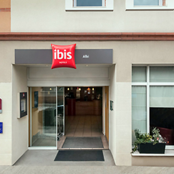 IBIS BUDGET ALBI CENTRE Hotel Parking (Overdekt) Parkeergarage Albi