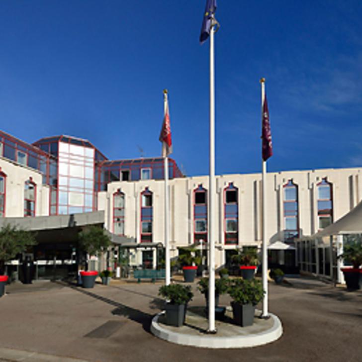 Hotel Parkhaus MERCURE ROUEN CHAMP-DE-MARS (Überdacht) Parkhaus Rouen