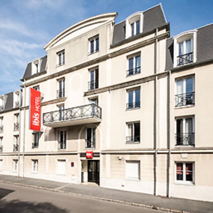 IBIS VALENCIENNES Hotel Parking (Exterieur) Parkeergarage Valenciennes