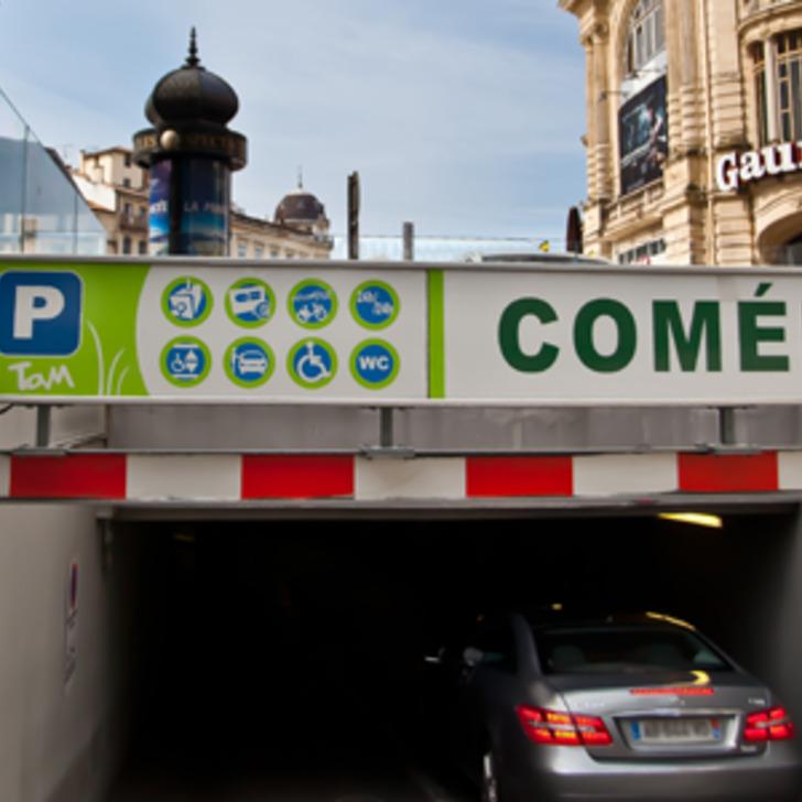 Parking Public TAM COMÉDIE (Couvert) MONTPELLIER
