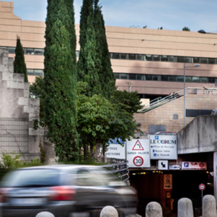Öffentliches Parkhaus TAM CORUM (Überdacht) MONTPELLIER