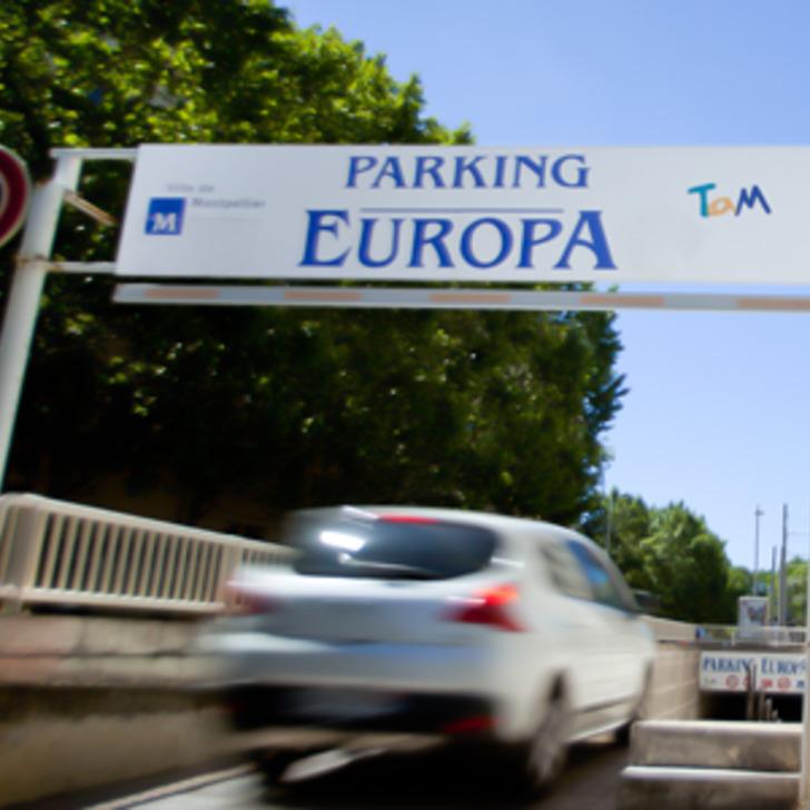 Öffentliches Parkhaus TAM EUROPA (Überdacht) Montpellier