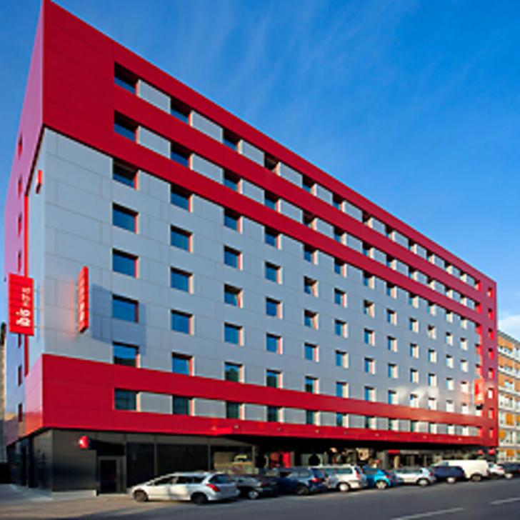 IBIS GENÈVE CENTRE NATIONS Hotel Parking (Overdekt) Parkeergarage Genève