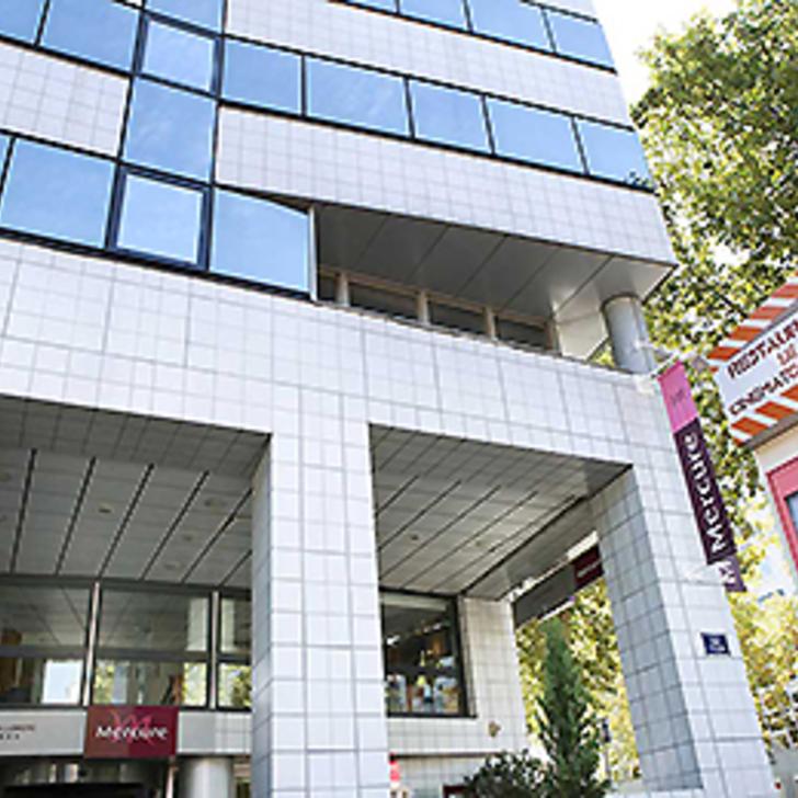 Parking Hôtel MERCURE LYON LUMIÈRE MONPLAISIR (Couvert) Lyon