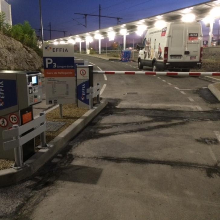 Parcheggio Ufficiale EFFIA GARE DE BELLEGARDE P3 (Esterno) parcheggio BELLEGARDE SUR VALSERINE