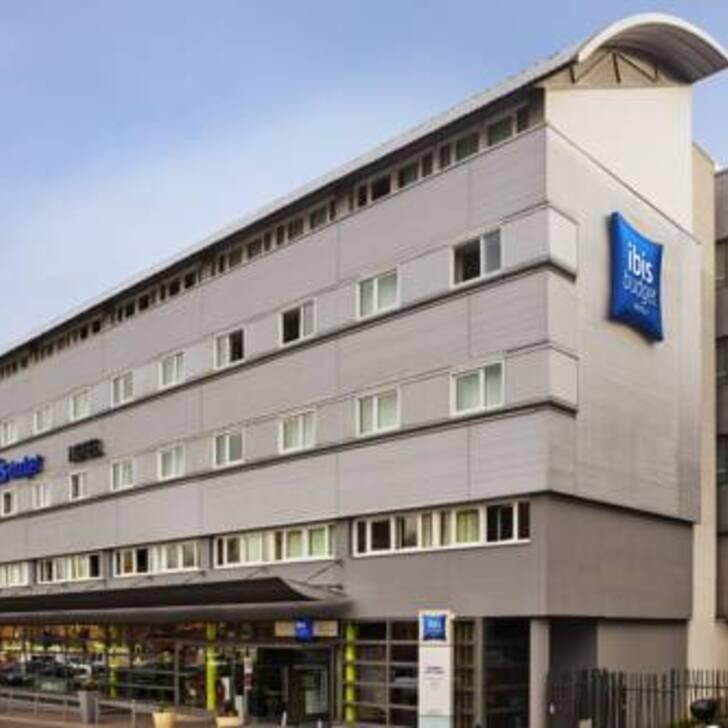 IBIS BUDGET PARIS PORTE DE PANTIN Hotel Parking (Exterieur) Pantin