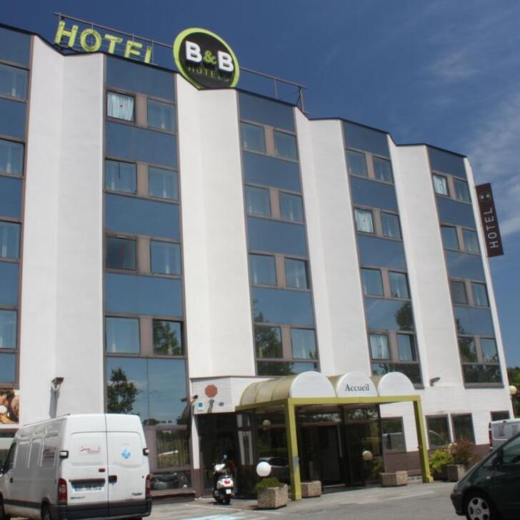 Hotel Parkhaus B&B TOULOUSE CENTRE (Überdacht) Parkhaus Toulouse