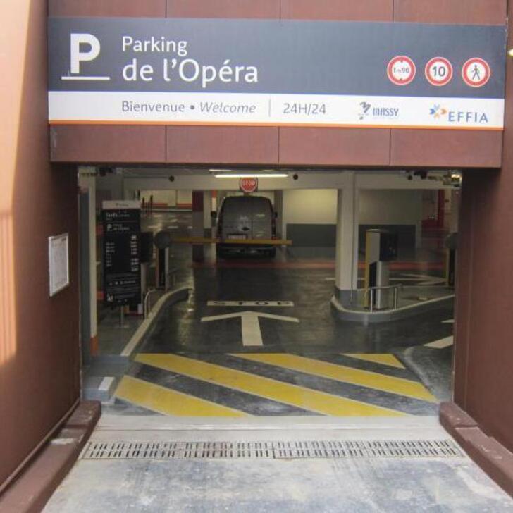 Öffentliches Parkhaus EFFIA OPÉRA (Überdacht) Parkhaus Massy