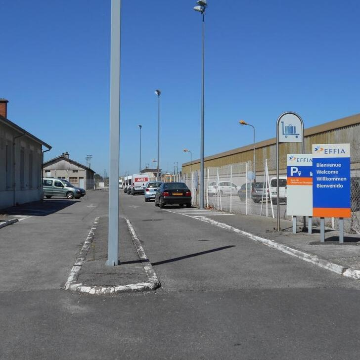 Parking Officiel EFFIA GARE DE CHÂLONS-EN-CHAMPAGNE (Extérieur) Châlons-en-Champagne