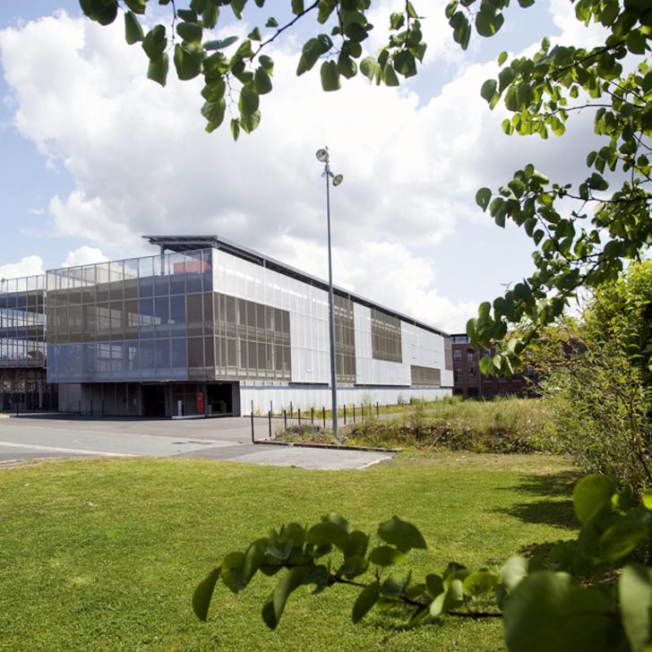 Öffentliches Parkhaus PARCOGEST PLAINE IMAGES (Überdacht) Tourcoing