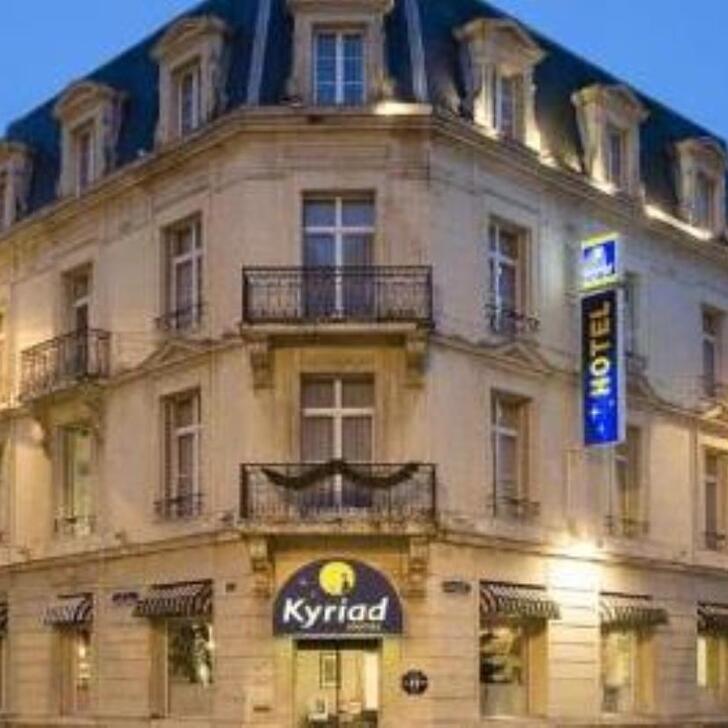 KYRIAD REIMS CENTRE Hotel Parking (Exterieur) Reims