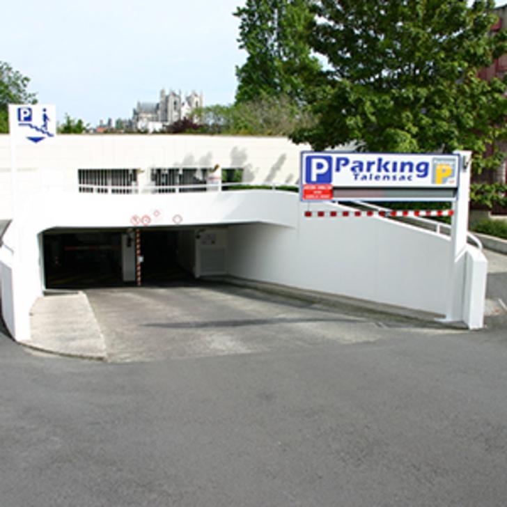 Parking Público NGE TALENSAC (Cubierto) Nantes