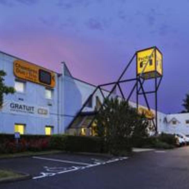 Parque de estacionamento Parking Hôtel HOTELF1 LILLE MÉTROPOLE (Extérieur) Mons-en-Baroeul