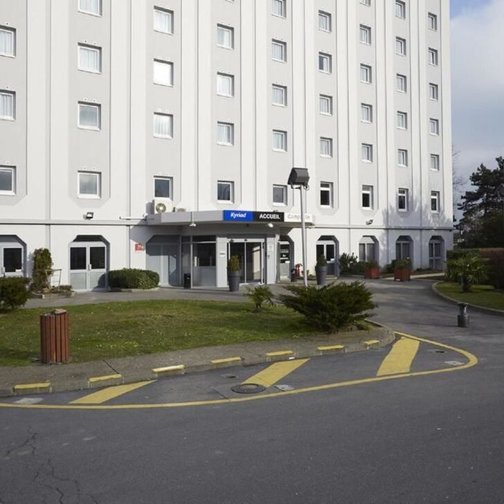 KYRIAD LE BLANC-MESNIL Hotel Parking (Overdekt) Parkeergarage Le Blanc-Mesnil