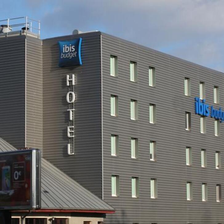 Parque de estacionamento Parking Hôtel IBIS BUDGET LYON GERLAND (Extérieur) Lyon