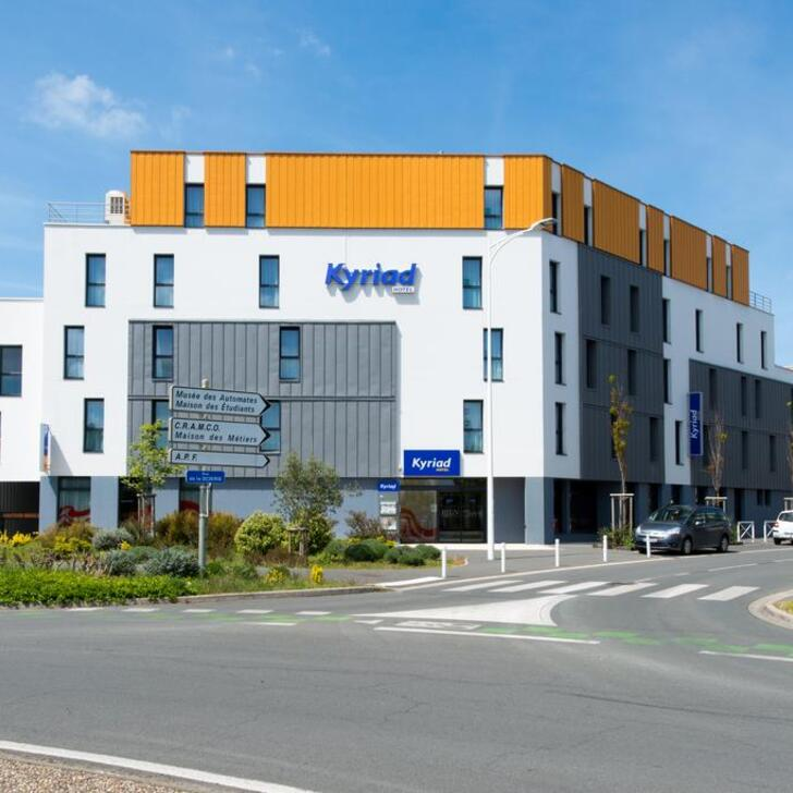 Parking Hotel KYRIAD LA ROCHELLE CENTRE - LES MINIMES (Cubierto) La Rochelle
