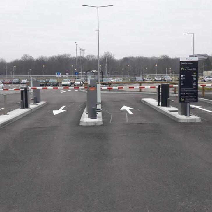 EFFIA GARE DU CREUSOT TGV P2 Officiële Parking (Exterieur) Parkeergarage Torcy