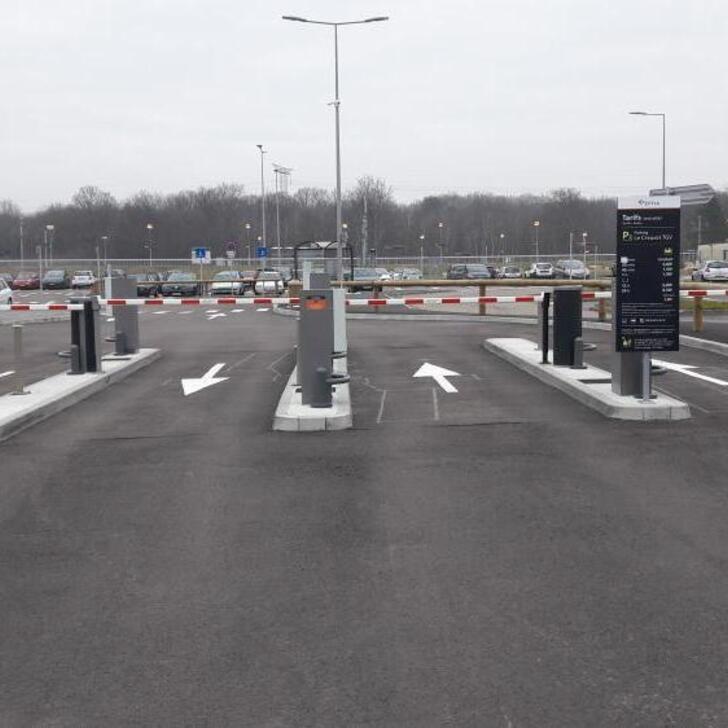 Parking Oficial EFFIA GARE DU CREUSOT TGV P2 (Exterior) Torcy
