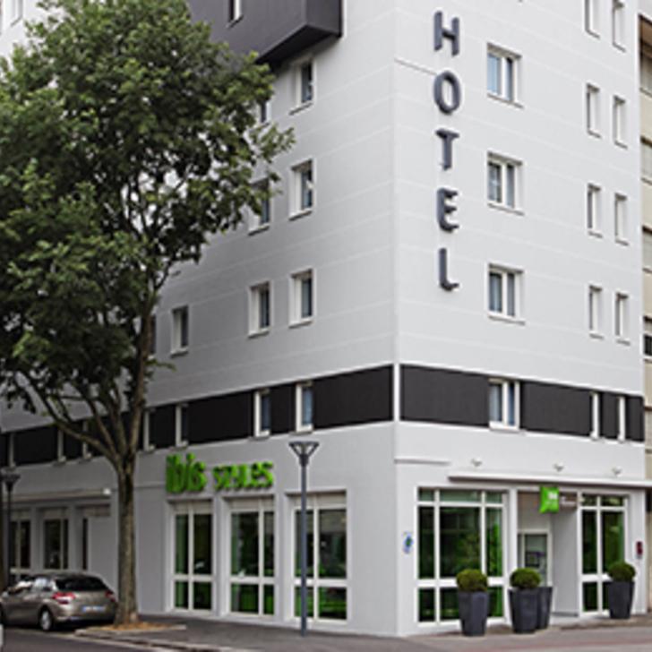 Parcheggio Hotel IBIS STYLES LYON VILLEURBANNE (Coperto) parcheggio Villeurbanne