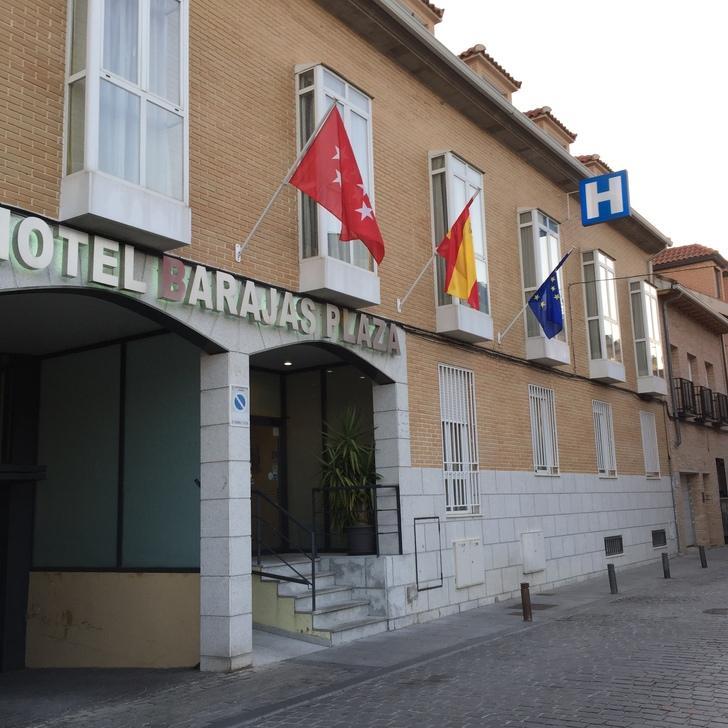 BARAJAS PLAZA Hotel Parking (Overdekt) Parkeergarage Madrid