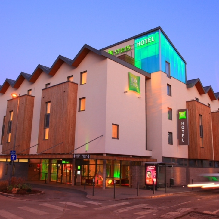IBIS STYLES TROYES CENTRE Hotel Parking (Overdekt) Parkeergarage Troyes