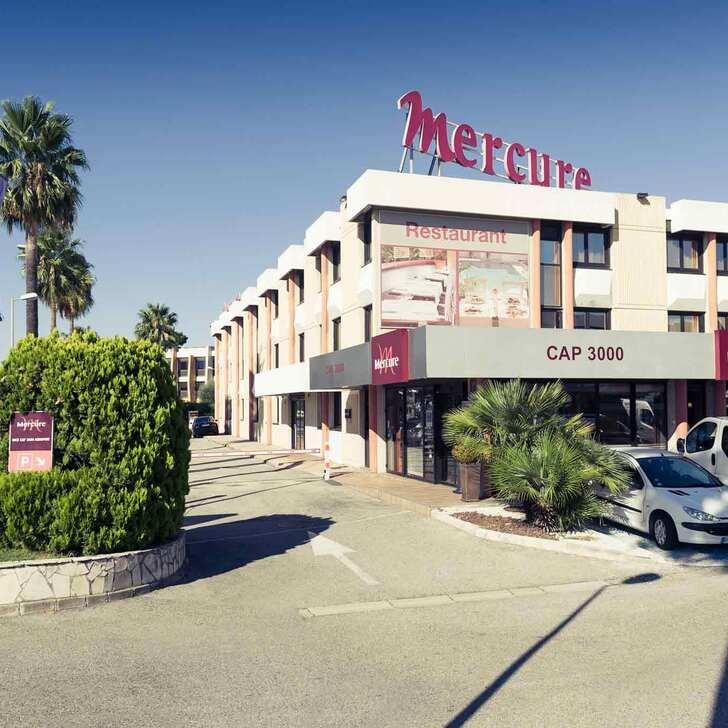 Hotel Parkhaus MERCURE NICE CAP 3000 AÉROPORT (Überdacht) Parkhaus Saint-Laurent-du-Var