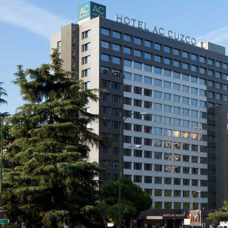AC HOTEL BY MARRIOTT CUZCO Hotel Parking (Overdekt) Parkeergarage Madrid