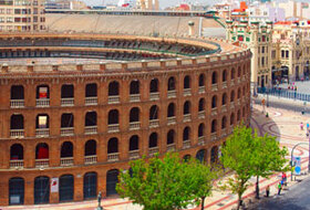 Bullring of Valencia car park: prices and subscriptions - Exhibition car park | Onepark